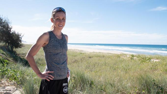 Liz Blatchford is a professional triathlete and new mother who uses My Health Record to ensure she's fighting fit while managing the health of her daughter, Mahli.